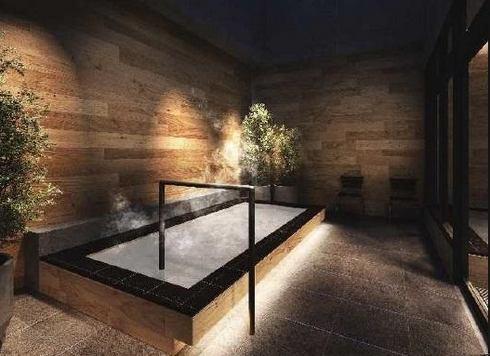 ヴィアイン広島新幹線口の大浴場・外湯