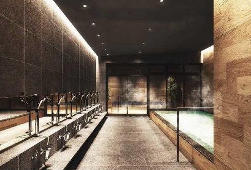 ヴィアイン広島新幹線口の大浴場・内湯