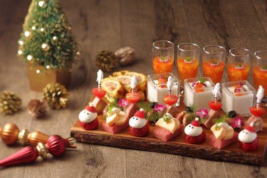 ホテルのクリスマスランチ!3日間限定のブッフェランチを開催