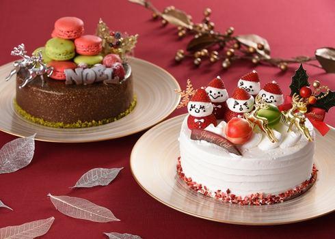 グランドプリンスホテル広島2019クリスマスケーキ3種