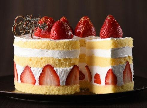 広島県産イチゴ「タカノプリンセス」だけを使ったクリスマスケーキ、広島のプリンスホテルから