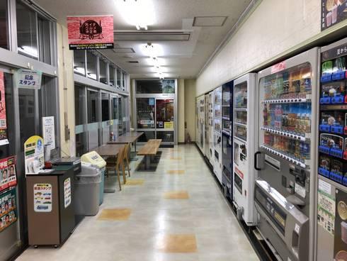 吉和SA下り線 自販機コーナー01