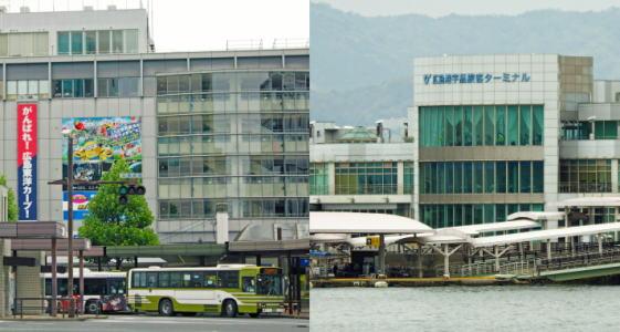 広島港行き「広島みなと新線」など、広島駅から便利なバスの2ルート新設!