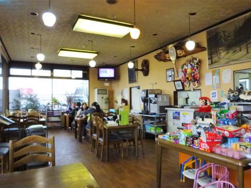 庄原市のお食事処 ドライブインミッキー 店内の様子