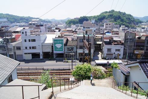 宝土寺 街の風景
