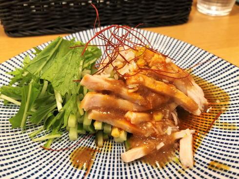 広島駅 花木蘭(ファムーラン)点心 棒棒鶏