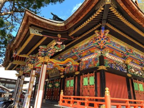 神社仏閣ランキング2019 三峯神社