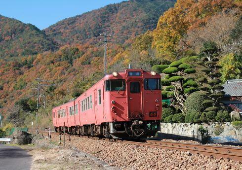芸備線を走る列車 写真集2
