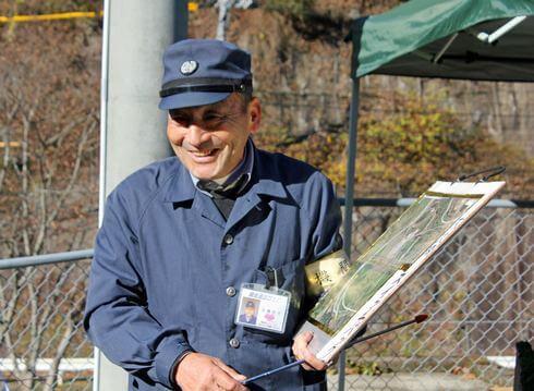 備後落合駅を語る、元機関士の永橋則夫さん
