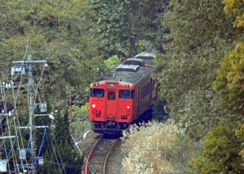 芸備線を走る列車 写真集1