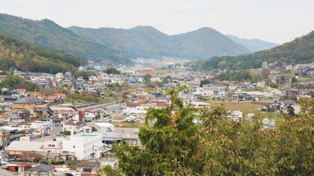 安芸高田市 丸山公園 展望台からの風景2