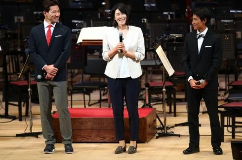 オリンピックコンサート ステージ写真