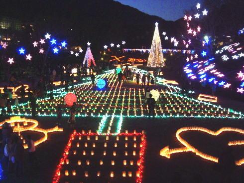 花と光のページェント クリスマスイルミネーションイメージ