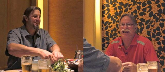 エルドレッド親子が「サシ飲み」テレビ新広島 大晦日スペシャルで