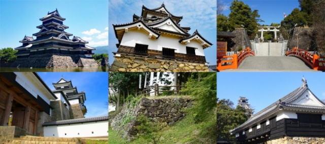 日本のお城ランキングTOP100、城ファンが訪れたリアル版2019