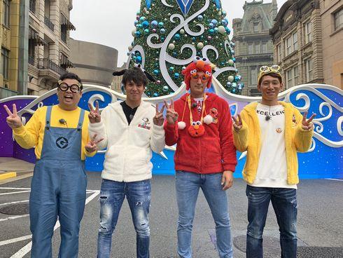 カープ西川・床田・曽根がUSJで大はしゃぎ!スポラバ新春特番「なにわカープ男子旅」