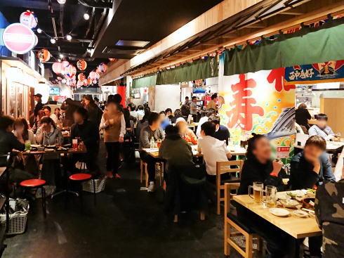 広島呑み屋街 ほのぼの横丁 店内の様子2