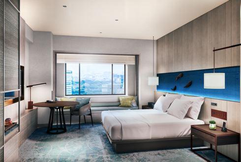 ヒルトン広島、ホテル客室(例)