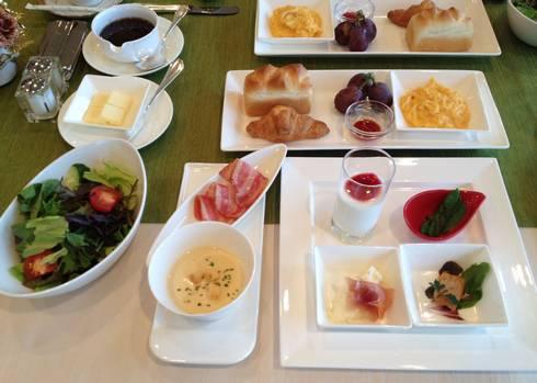 神石高原ホテル 朝食(例)