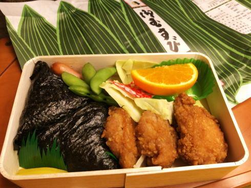 むさし若鶏むすび弁当、ほっとする広島の味