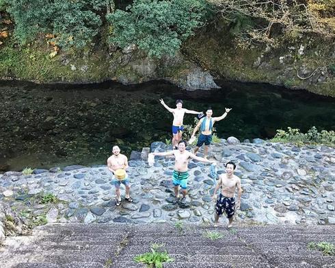 テント型サウナ体験、湯来リバーサウナ 水風呂は川で!