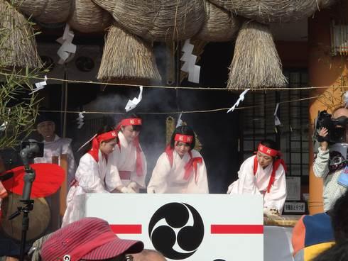 住吉神社の節分祭「焼嗅がし神事」