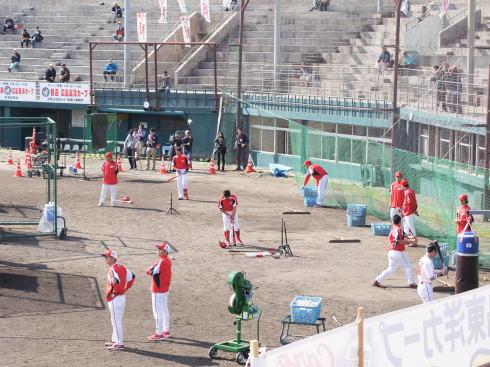 カープ沖縄キャンプ 昔の球場の写真2