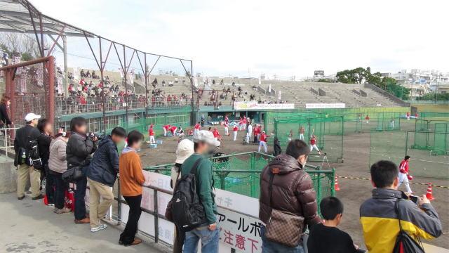 カープ沖縄キャンプ 昔の球場の写真3