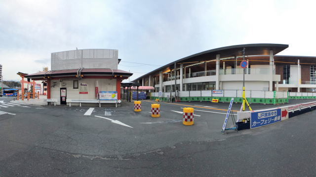 宮島口(厳島港)フェリーターミナル外観