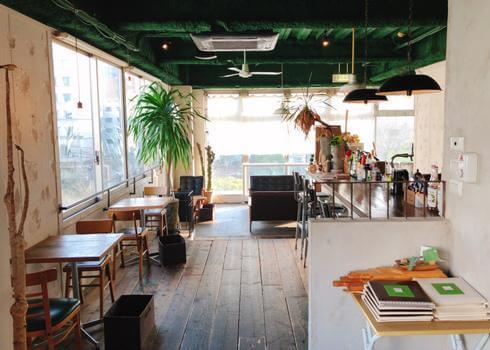 広島 ハコニワ(HACONIWA)カフェ店内の様子