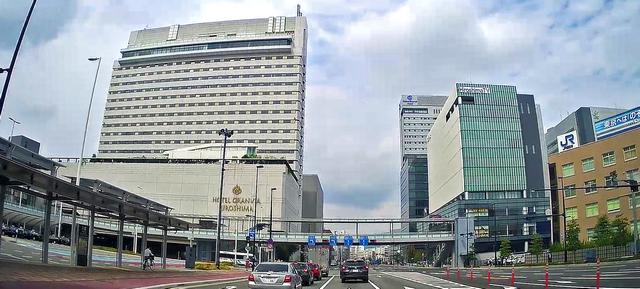 ホテルグランヴィア広島 広島駅北口の様子