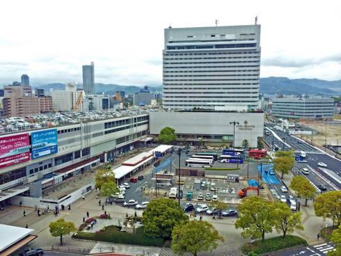 ホテルグランヴィア広島 俯瞰写真