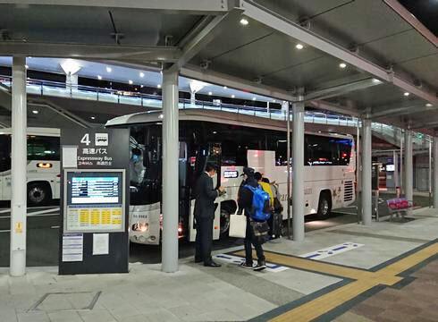 広島駅から百万石ドリーム広島号で金沢へ
