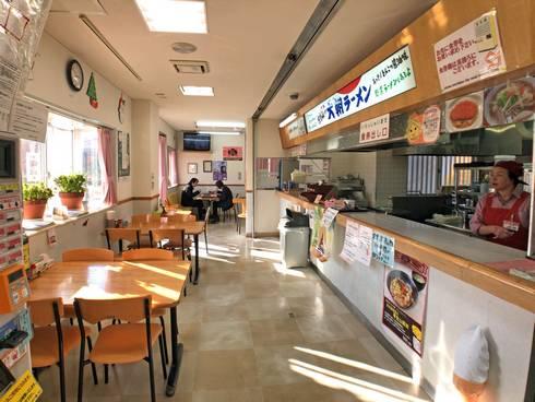 寒曳山パーキングエリア(上り線)食事コーナー