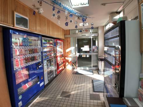 寒曳山パーキングエリア(上り線)自販機コーナー