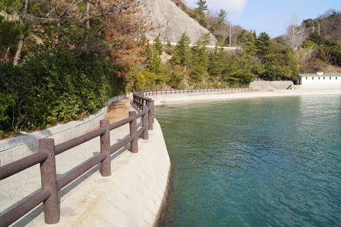 野賀海水浴場 遊歩道01