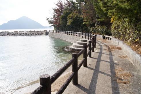 野賀海水浴場 遊歩道02