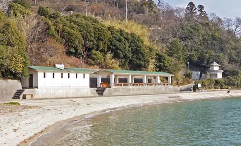 野賀海水浴場 3つの施設