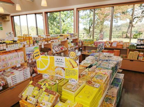 大浜PA(上り線)レモン系商品