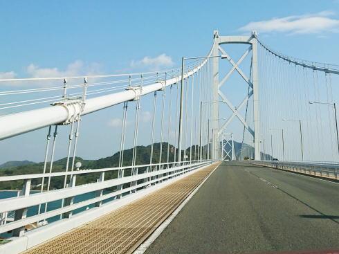 因島大橋の写真