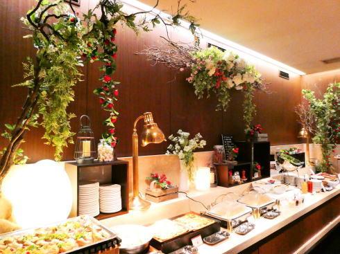 オリエンタルホテル広島 ストロベリービュッフェ会場の様子 画像7