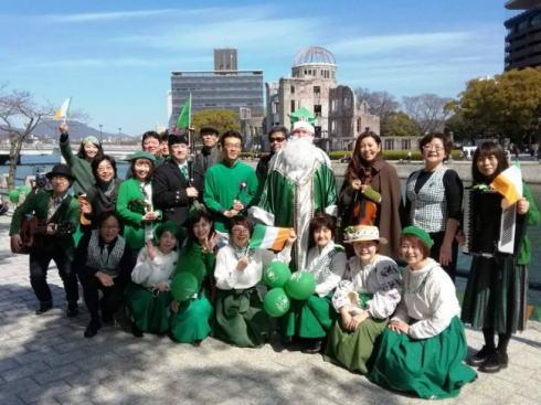 セント・パトリックス・デー・パレード 広島