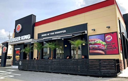 バーガーキング 店舗イメージ