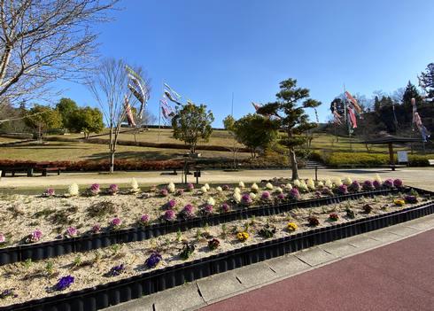 熊野町の深原地区公園
