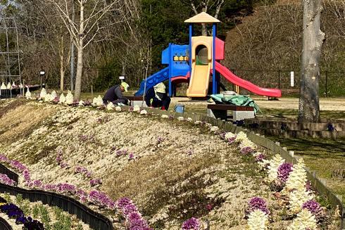 深原地区公園、手入れの行き届いた広島・熊野の公園