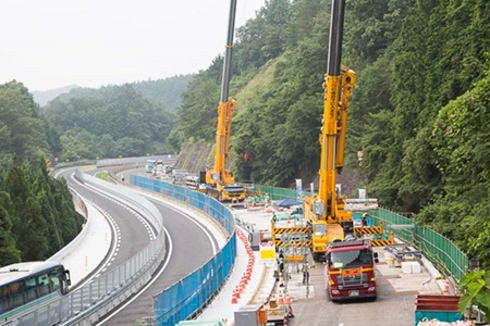中国道で大規模リニューアル、庄原・三次エリアなどで昼夜連続車線規制