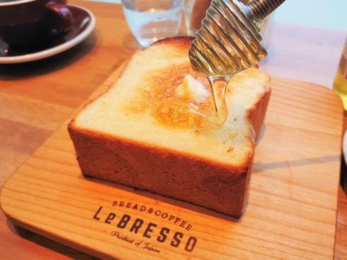 広島にレブレッソ(LeBRESSO)、コーヒーと食パンの専門店