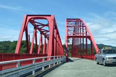 向島大橋 歩行者用の橋を併設01