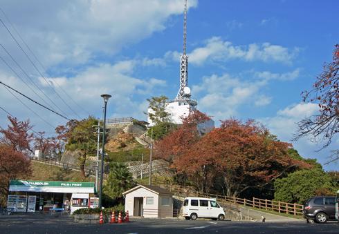 広島市内を一望できる、黄金山からの眺め