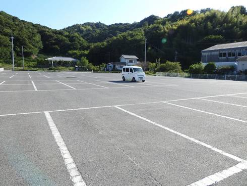 しまなみビーチ 駐車場